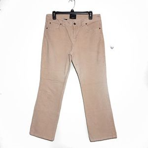 The Limited Tan Corduroy Drew Fit Pants 10
